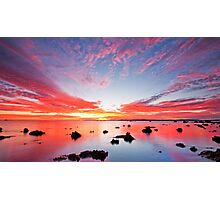 Stepping Stones to Heaven - Cleveland Point Qld Photographic Print