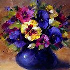 Pansies by Ivana Pinaffo