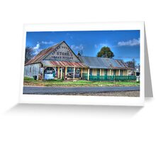 Great Western Store, Hill End, NSW, Australia Greeting Card