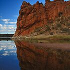 Glen Helen Gorge, Northern Territory by Brett Straughan
