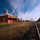 GUYRA RAILWAY CROSSING  NSW by DIZZYHEIGHTS