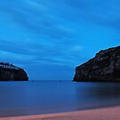 Ink blue dawn - Cala En Porter, Menorca by westie71