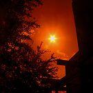 Dark Red Morning - Florida by Glenn Cecero