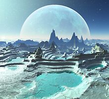 Moon Pools on Kresor 9 by SpinningAngel