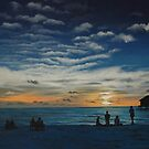 Kuredu Sunset - Maldives by Paul Fearn