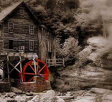 Glade Creek Grist Mill by NervisGrafix