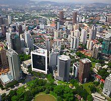 Kuala Lumpur City by 104paul
