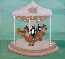 Rooster Carousel by Ryan Conners
