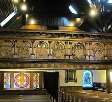 Kilbirnie Auld Kirk interior 3 by Ray Vaughan