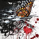Butterfly Effect Painting by Joselenny Gomez