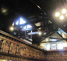 Kilbirnie Auld Kirk interior 8 by Ray Vaughan