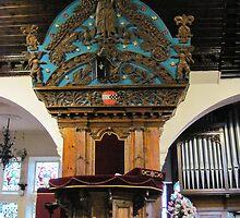 Kilbirnie Auld Kirk interior 12 by Ray Vaughan