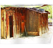 Shed by the Tracks Poster
