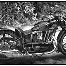 New Hudson Motor Cycle by Peter Tachauer