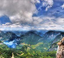 5 Fingers - Krippenstein (Austria) - 36 shot HDR Panorama by Luke Griffin