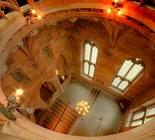 John Rylands Library, Manchester, UK (HDR) by Stephen Knowles