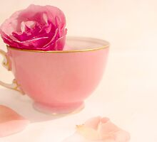 My Pink Teacup by Margi