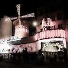 The Moulin Rouge, France by Clint Burkinshaw