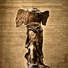 Winged Victory of Samothrace, France by Clint Burkinshaw