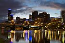 Melbourne At Dusk by Vince Russell