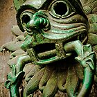 Sanctuary Door Knocker by DeePhoto