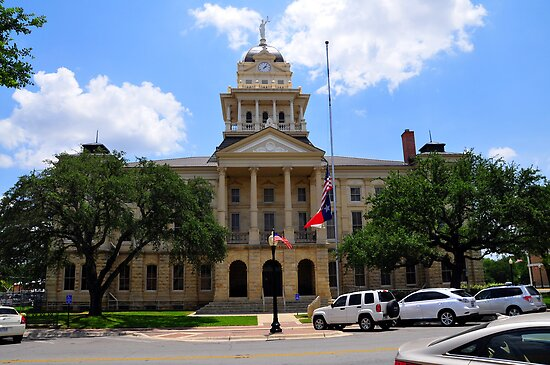 Bell County Courthouse; Belton, TX by plsphoto