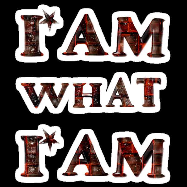 I am what i am/ Shirt by haya1812