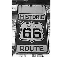 Historic Route 66 Photographic Print