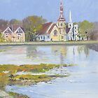 Mahone Bay, Nova Scotia by Chris Jessup