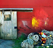 Lobsterman's Shack, Friendship, Maine by fauselr