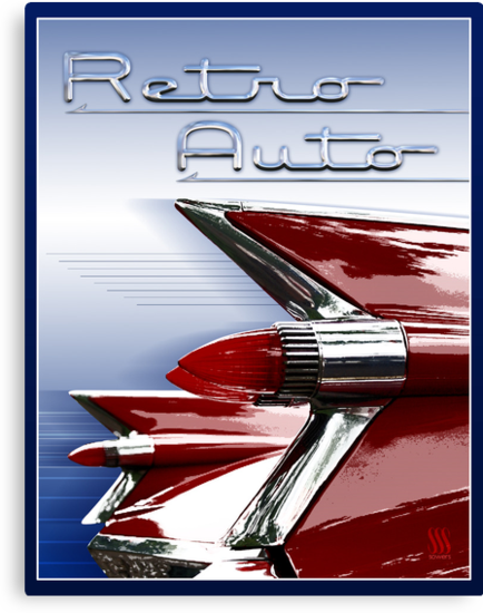 Retro Auto by Susan Sowers