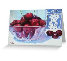 Have a Bing Cherry, Go Ahead Try 'em Greeting Card
