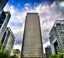 Canary Wharf Standing Head and Shoulders by FPhotographic