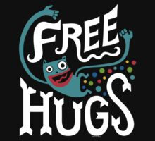 Free Hugs - on dark by Andi Bird