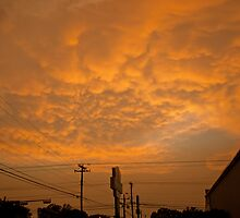 A Golden Austin Sky by Roschetzky