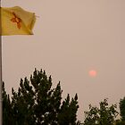 Smoke Over New Mexico- NE Albuquerque by JanetBethuy