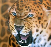 Leopard by Endangered Art