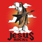 Funny Jesus Rocks Shirt by 785Tees
