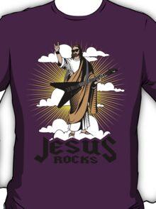 Funny Jesus Rocks Shirt T-Shirt