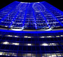 Curled Up & Blue - Vivid Festival - Sydney by Bryan Freeman