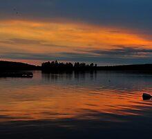 Muskoka Sunset 2 by SamTheCowdog
