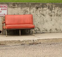 Old Red Chair by Starsania