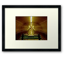In The Metro Framed Print