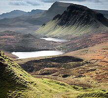 Quiraing - Cleat & Loch Cleat by SteveMG