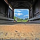 """Low View Covered bridge by Scott """"Bubba"""" Brookshire"""