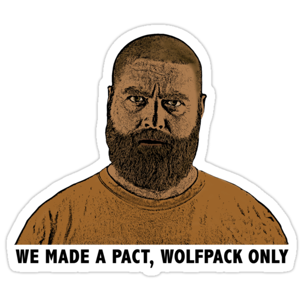 The Hangover 2 movie funny Alan quote wolfpack  by its-mr-towel