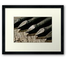 Bodkin Arrowheads Framed Print