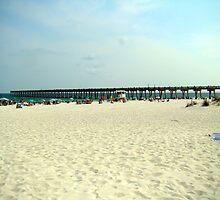 Pensacola Beach by Wanda Raines