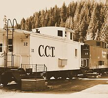Cupola Caboose by doubleheader