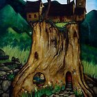Tree Stump House by Peter Maudsley